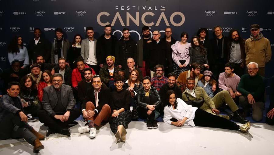 Oito temas competiram no sábado na primeira semifinal do Festival da Canção
