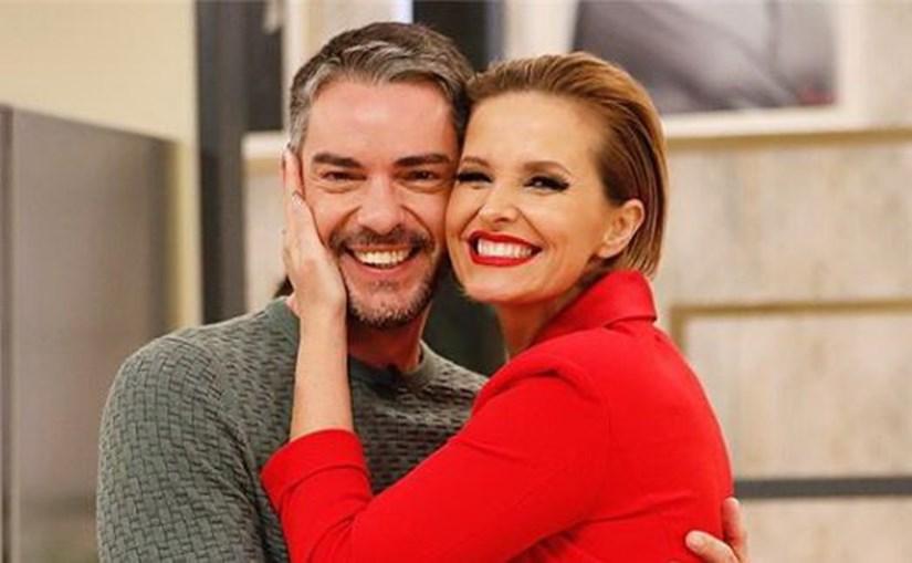 Cristina Ferreira e Cláudio Ramos