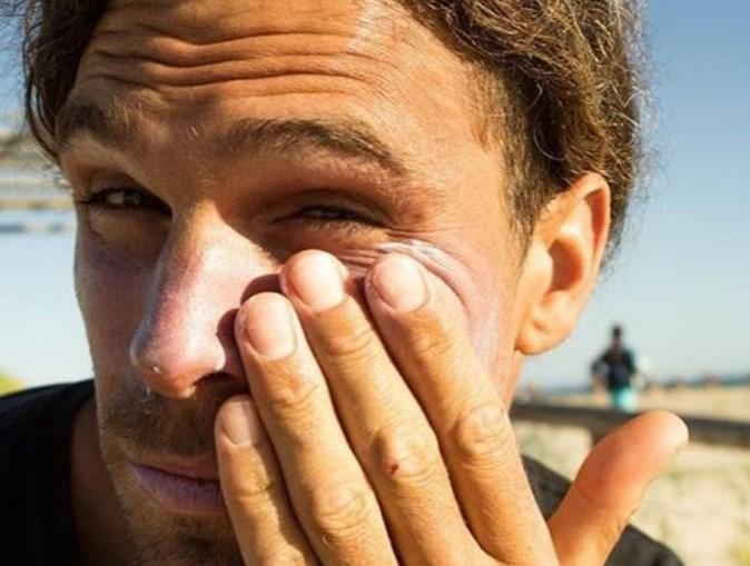 Surfista português Alex Botelho