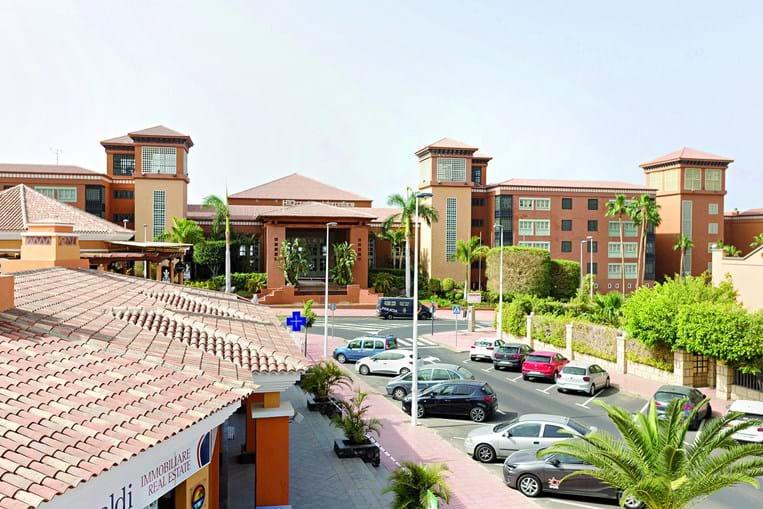 O hotel de Tenerife em quarentena