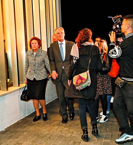 Aníbal Cavaco Silva e a mulher, Maria, destacaram a força com que Laura sempre enfrentou a doença