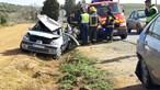 Colisão entre três carros e um camião faz dois feridos em Beja