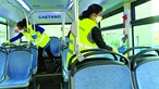 Associação põe em causa efeito durante 30 dias de desinfetante usado em transportes públicos