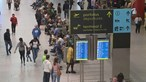 Transporte aéreo cai no 1.º semestre mas mantém crescimento em junho