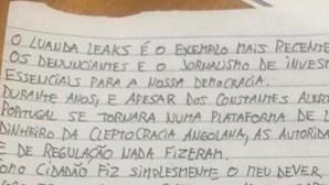 """Ana Gomes revela mensagem do hacker Rui Pinto: """"Fiz simplesmente o meu dever como cidadão"""""""
