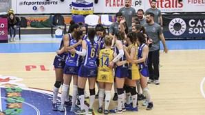 Voleibol feminino do FC Porto suspenso após surto de Covid-19