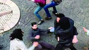 Novos confrontos ferem vários comerciantes na zona da Bica em Lisboa