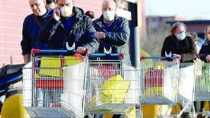 Mortes em Itália devido ao coronavírus disparam 31%