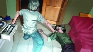 Atacada por marido sobrevive a três facadas com pulmão perfurado