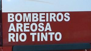 Três bombeiros infetados com coronavírus em Rio Tinto