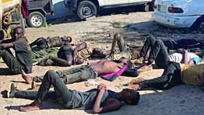 Polícia angolana descobre 64 corpos de imigrantes em contentor