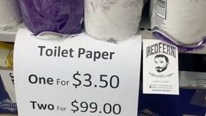 """""""Um por dois euros, dois por 54"""": """"Promoção"""" trava corrida ao papel higiénico"""
