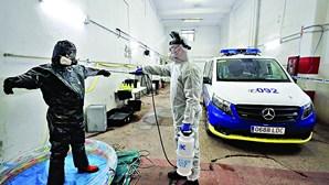 """Espanha e Itália estão """"a dias"""" de atingir o pico da pandemia do coronavírus"""