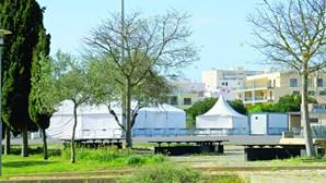Centro de rastreios para coronavírus em Portimão continua fechado