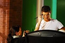 Cristiano Ronaldo foi rosto de várias publicidades do BES