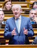 Rui Rio, líder do PSD,  atacou governante no Parlamento
