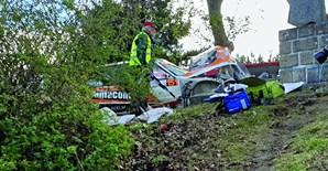 Carro de rali mata dois espectadores em prova de rampa em Vila Real