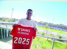 Pedrinho assinou pelo Benfica até 2025