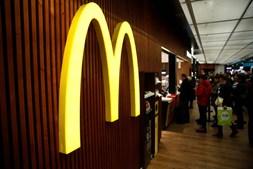 Cadeira de restaurantes de fast food McDonald's