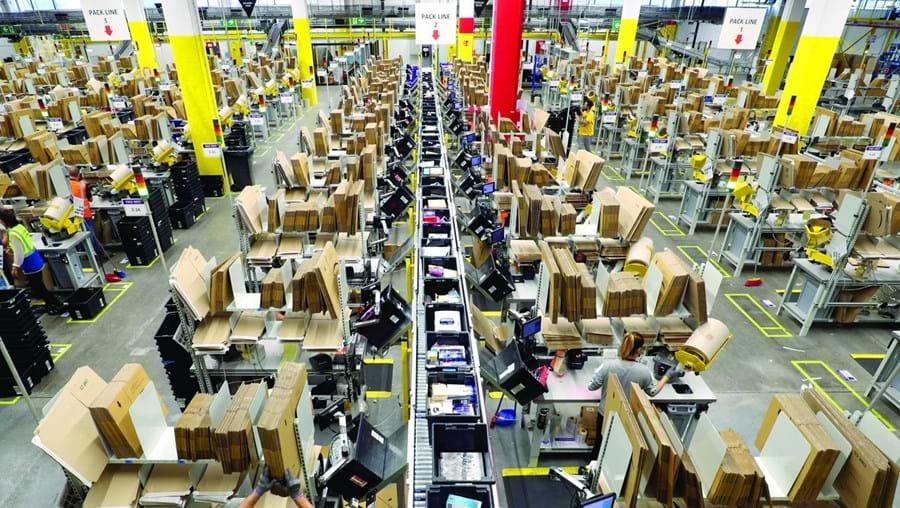 Percentagem efetiva de impostos pagos pela Amazon foi de 12,7%