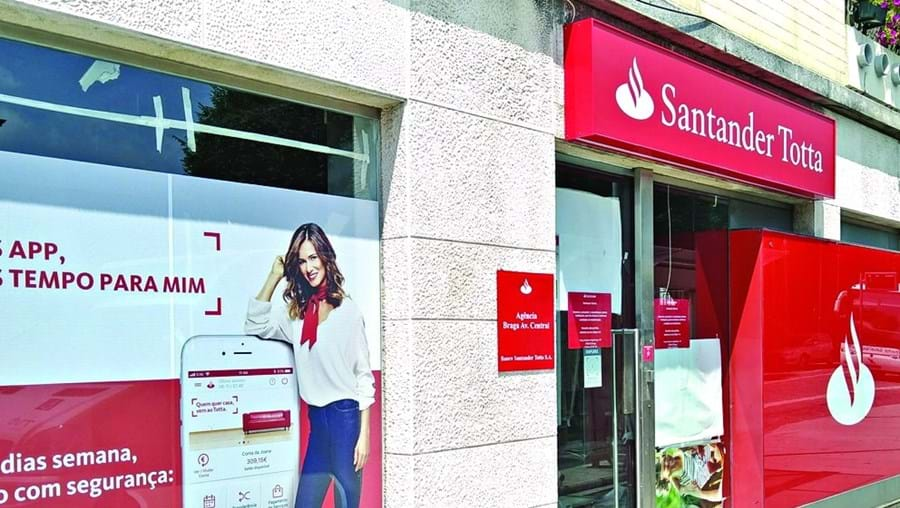 Banco Santander assaltado