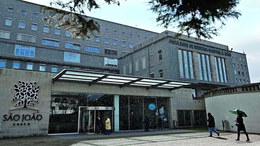 Hospital São João, no Porto