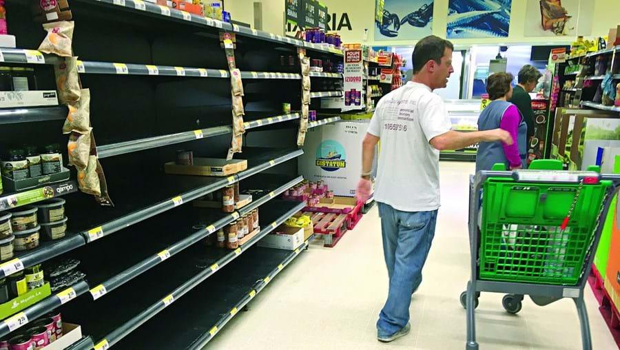 Compras nos supermercados