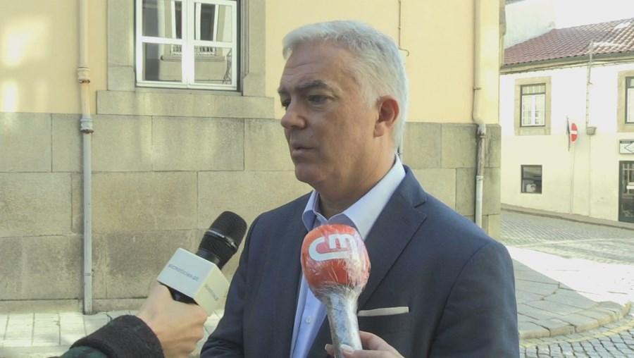 Rui Santos, presidente da Câmara de Vila Real