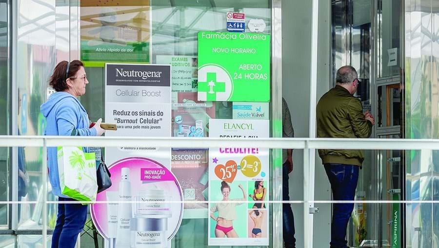 Farmácias registaram aumento da procura ao longo deste mês