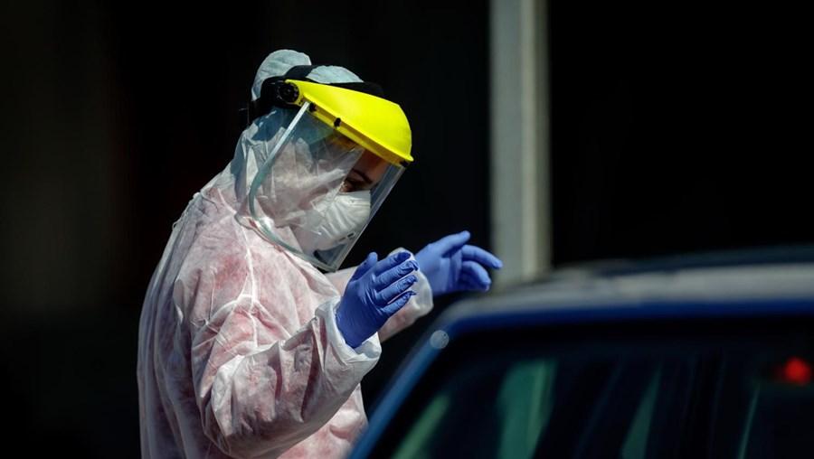 Viseiras utilizadas durante pandemia