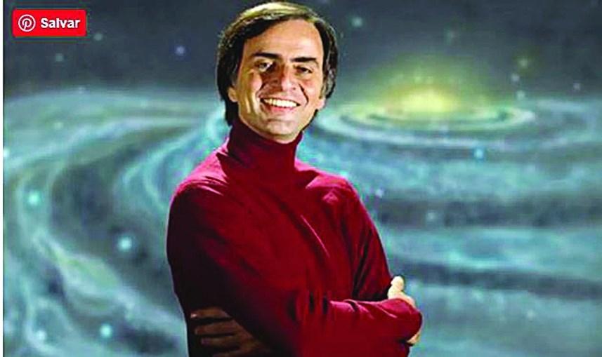 Carl Sagan foi o responsável do primeiro 'Cosmos'