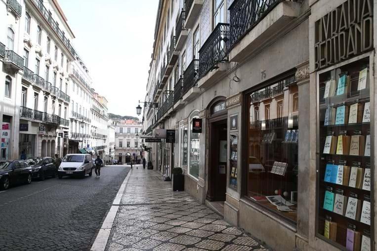 Lisboa vazia devido ao coronavírus