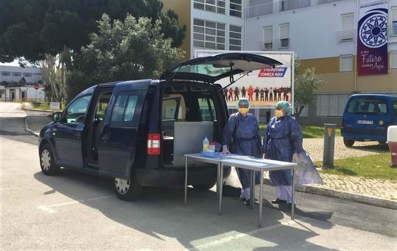Hospital militar do Porto recebe 40 idosos de lares com coronavírus