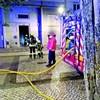 Fogo em prédio fere quatro pessoas na Amadora