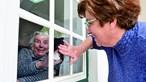 Lares de idosos sem plano para visitas. Famílas ansiosas e preocupadas