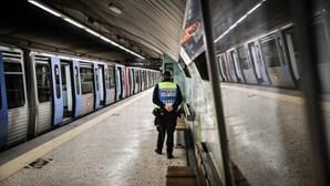 PSP vai controlar número de passageiros no Metro de Lisboa