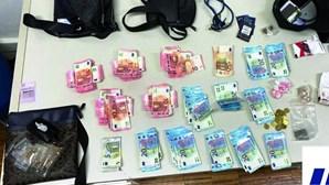 Trio detido por tráfico de droga na Amadora