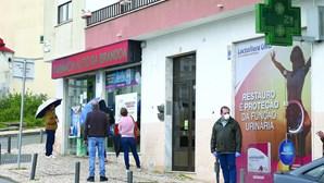 Clientes assaltados na fila para a farmácia na Amadora
