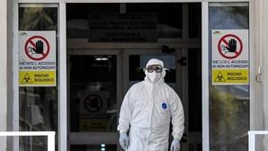 Itália reporta 692 mortos e quase 35 mil novas infeções por Covid-19 nas últimas 24 horas