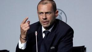 Presidente da UEFA apoia o regresso dos jogos das seleções em setembro