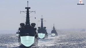 Máscaras em navios? Marinha portuguesa brinca no Twitter e está pronta para combater coronavírus