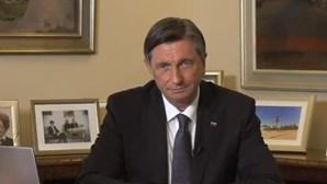 """Presidente da Eslovénia elogia """"determinação"""" do povo português na luta contra coronavírus"""
