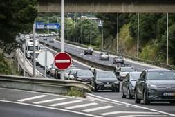 Ação de sensibilização e fiscalização da PSP na Ponte 25 de Abril