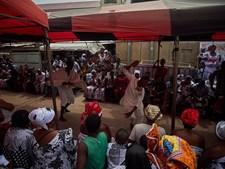 Funerais no Gana