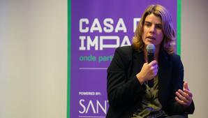 Inês Sequeira é diretora da Casa do Impacto, 'hub' de empreendorismo social da Santa Casa da Misericórdia de Lisboa