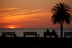 Coronavírus - Encinitas, Califórnia, EUA, 30 de Março