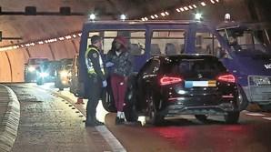 Jovem (21 anos) foi apanhado sem carta no Túnel do Grilo há 13 dias