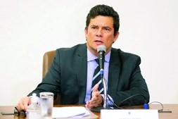 Antigo ministro da justiça Sérgio Moro