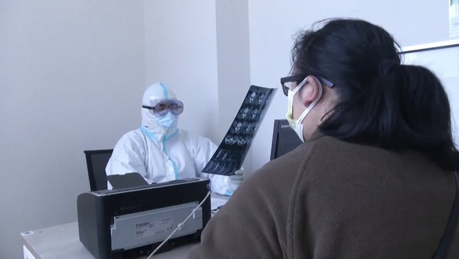 Hospital em Wuhan