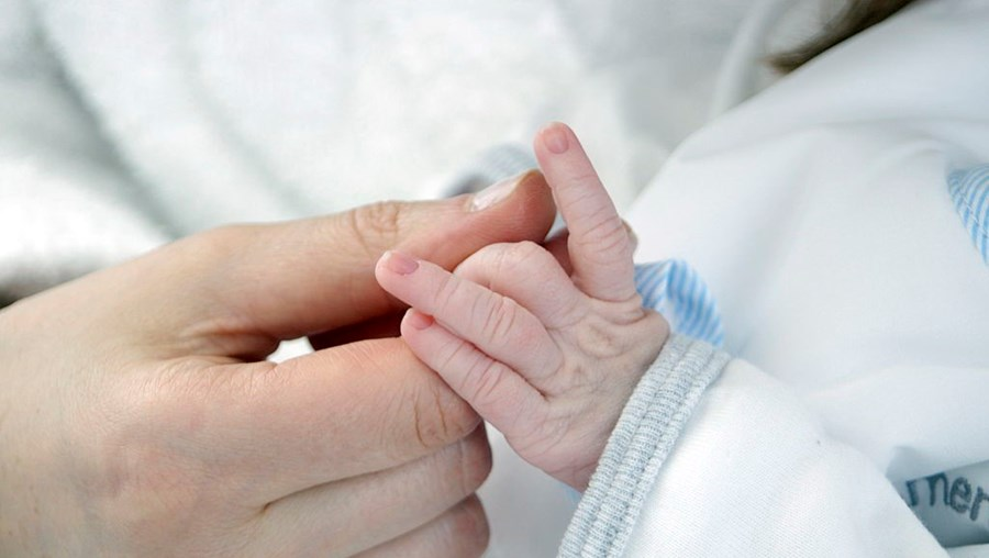 Bebé Oscar nasceu saudável